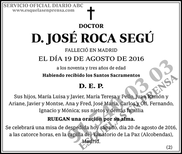 José Roca Segú